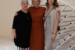 v.l.n.r.: Seyran Ates, Katja Riemann, Paula Riemann (credit: Marlene Löhr)