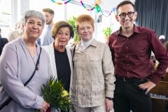 v.l.n.r.: Seyran Ates, Lala Süsskind, Petra Pau, Stephan von Dassel (credit: Dorothee Deiss)