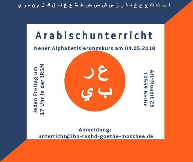 Neuer Arabisch Unterricht