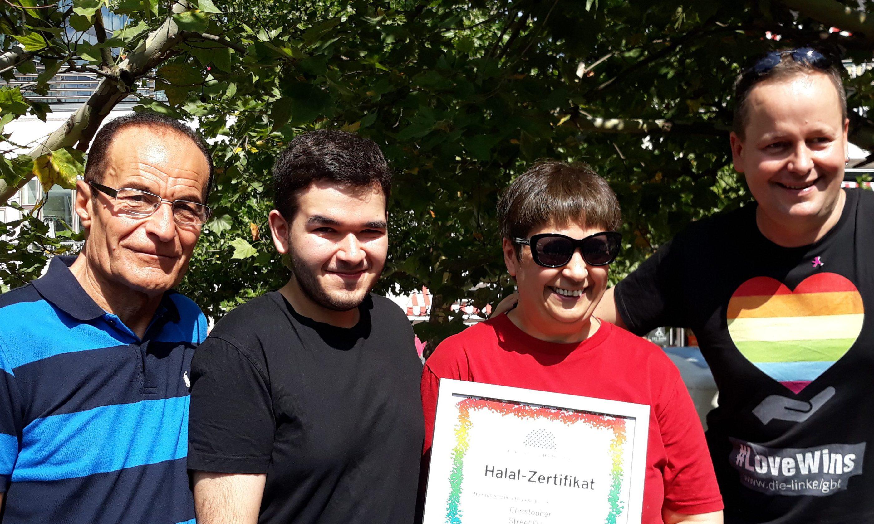 CSD Berlin Pride zertifiziert als Halal