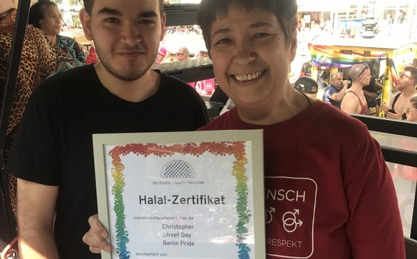 "Der Berliner CSD ist jetzt offiziell ""halal"""