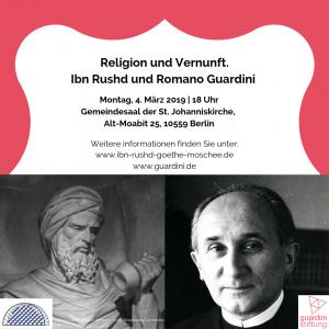 Religion und Vernunft. Ibn Rushd und Romano Guardini - ein Versuch @ St. Johannis Kirche