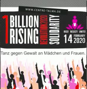 """""""One Billion Rising - Eine Milliarde erhebt sich"""""""