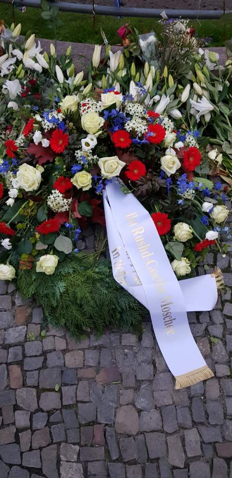 Kranzniederlegung an der Französischen Botschaft 10.11.2020